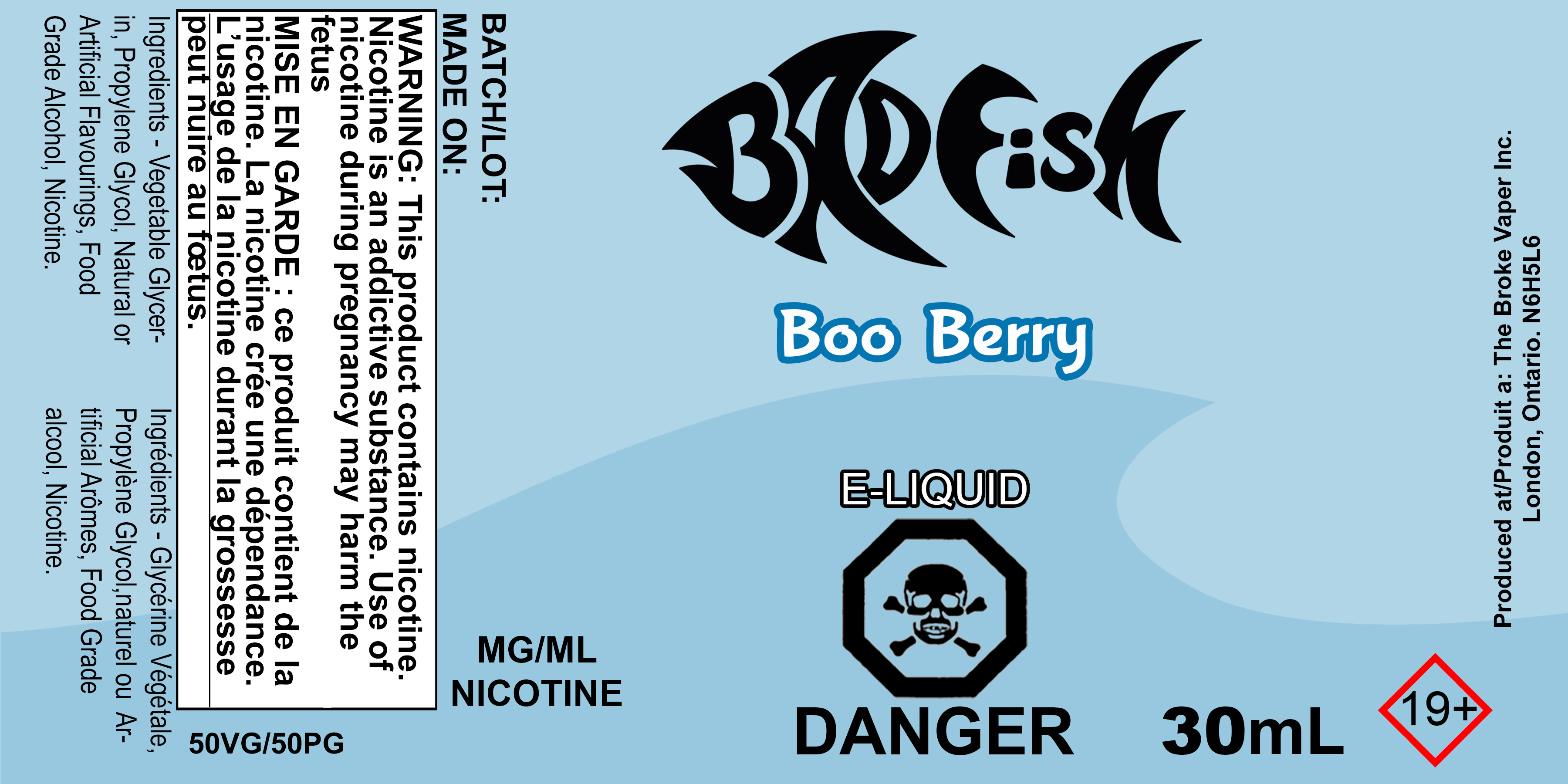 BF 30ML BOO BERRY SALT