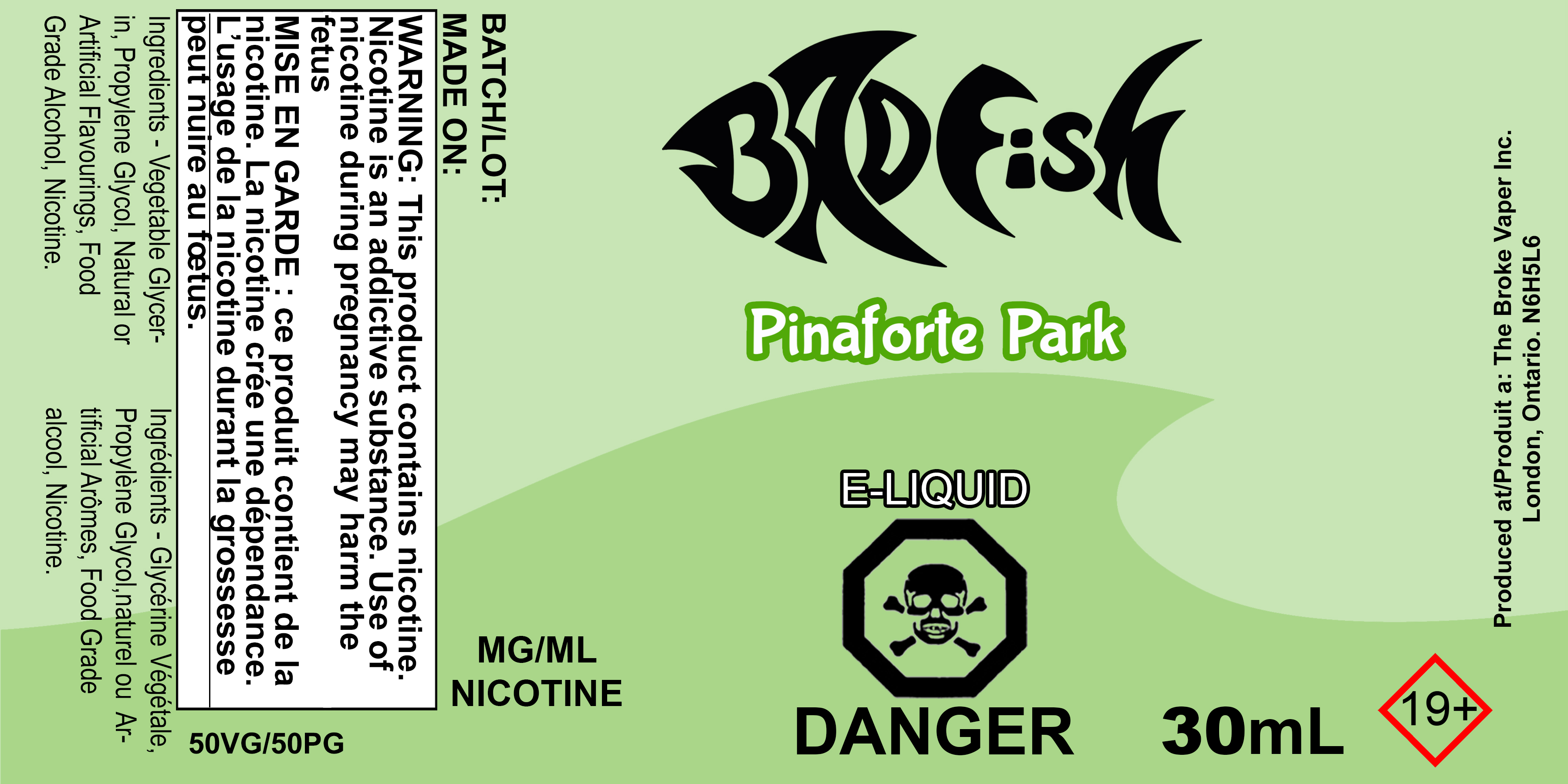 BF 30ML PINAFORTE PARK SALT