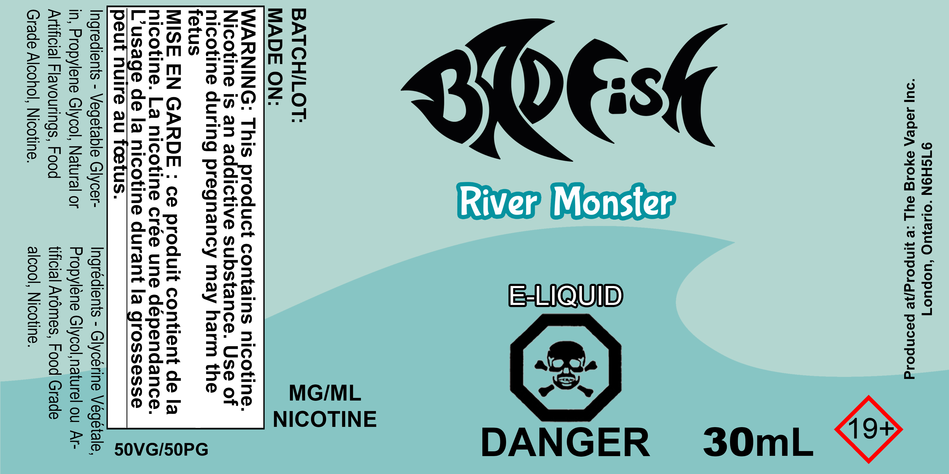 BF 30ML RIVER MONSTER SALT