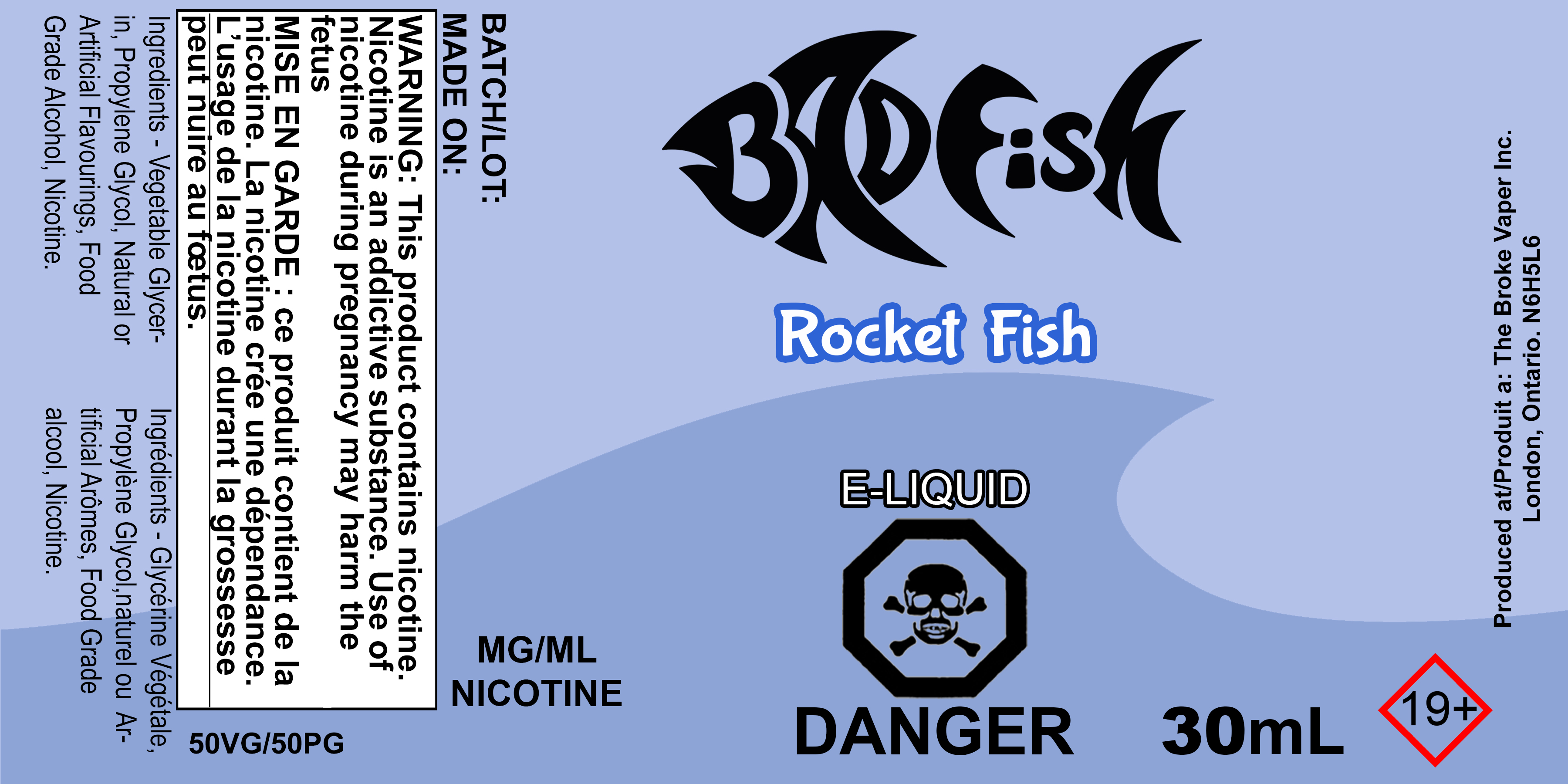 BF 30ML ROCKET FISH SALT